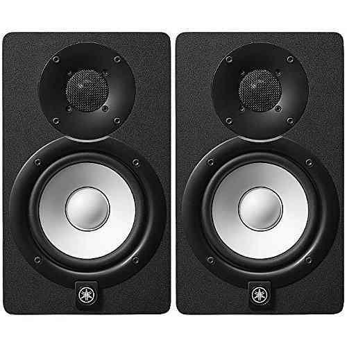 Monitor De Estudio Yamaha Hs5 En Negro (un Par)