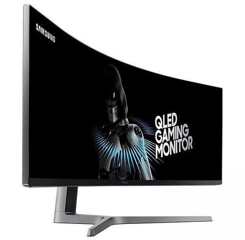 Monitor Led Samsung 49 Uhd 3840 X 1080 Lc49hg90dmlxzx Curvo