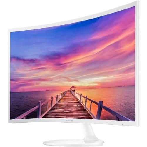 Monitor Samsung White Curvo 32