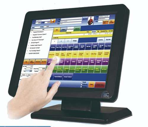 Monitor Touch Screen Uso Rudo Led Ec Line 15 Pulgada Tft Pos