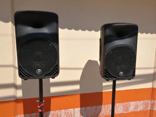 Par De Bocinas Amplificadas Mackie Srm 350 10 Monitores
