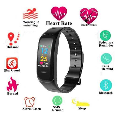 Pulsera Inteligente Monitor Fitness Oled Sumergible Wearfit