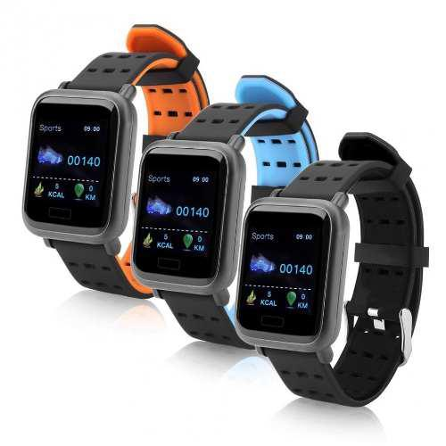 Pulsera Inteligente Monitor Fitness Sumergible Oled