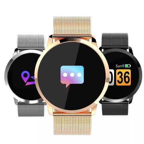 Reloj Smartwatch Newwaer Q8 Fitness Monitor Cardiaco