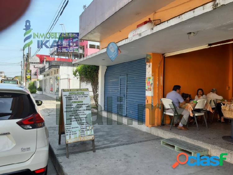 Rento Local Comercial 42 m² Col. Cazones Poza Rica