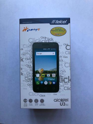 Teléfono Celular Alcatel 4034g U3 Gl Telcel Nuevo Liberado
