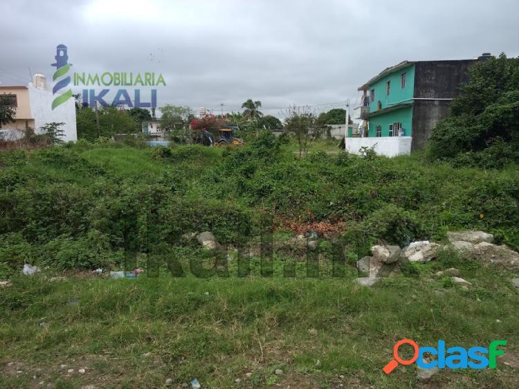 Vendo Terreno 400 m² Col. Reyes Heroles Tuxpan Veracruz,