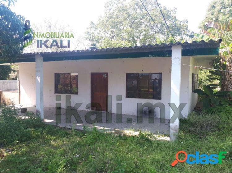 Vendo casa 2 habitaciones Col. Banderas Tuxpan Veracruz,