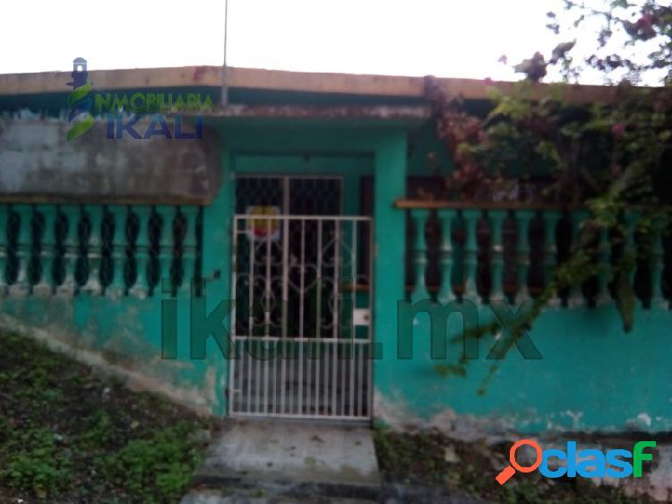 Vendo casa 2 recamarás Col. Miguel Hidalgo Poza Rica