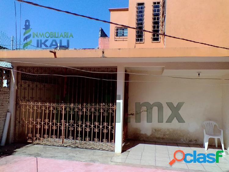 Vendo casa 3 Recamarás Col. México Poza Rica Veracruz,