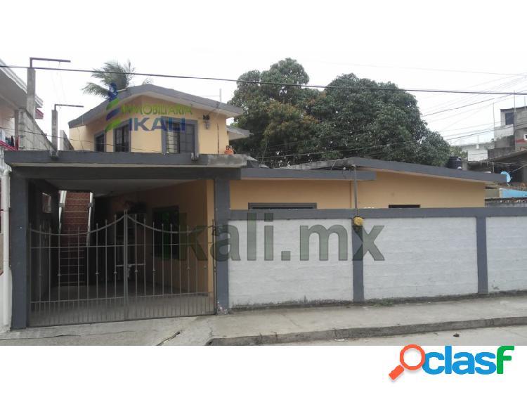 Vendo casa 3 rec. Col. Los Artistas Tuxpan Veracruz,