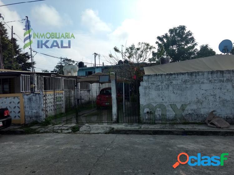 Vendo casa 3 recamarás Col. Electricista Tuxpan Veracruz,
