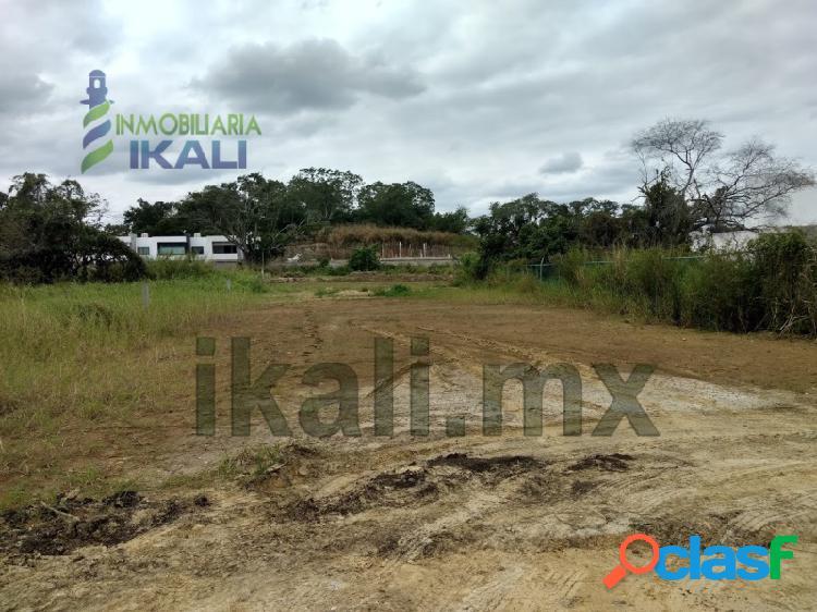 Vendo terreno 1159.69 m² Col. Jardines Tuxpan Veracruz,