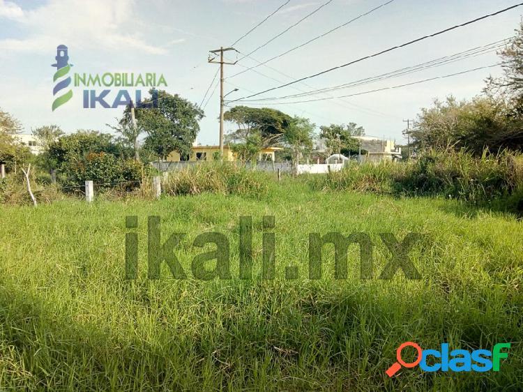 Vendo terreno 400 m² Col. La Calzada Tuxpan Veracruz, La