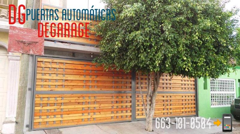 puertas automáticas de garage