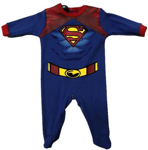Mameluco Superman Original Dc Comics - Ropa De Bebe