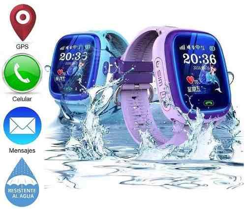 Smart Watch Reloj Celular Gps Localizador Niño Contra Agua