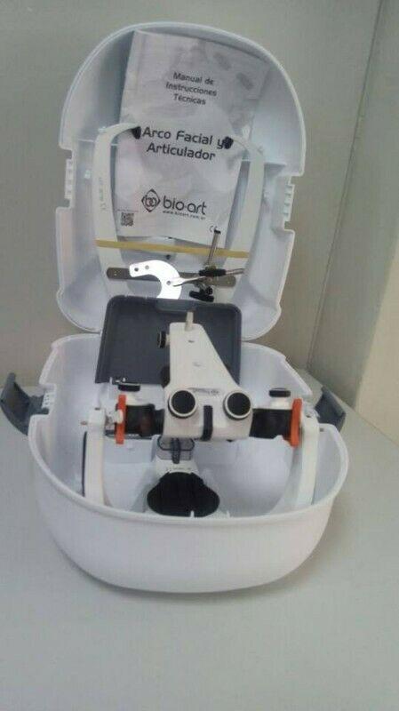 Articulador marca Bio Art A7 nuevo con estuche y accesorios.