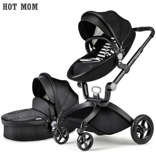 Carreola Bebe Europea Multifuncional Hot Mom 2 En 1 Bambinet