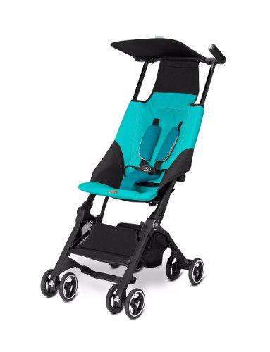 Carriola Pockit Us No Reclinable Compacta Azul