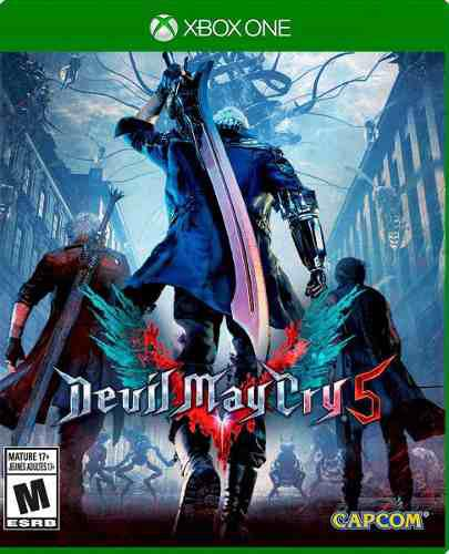 Devil May Cry 5 Xbox One Fisico Nuevo Sellado Envio Express