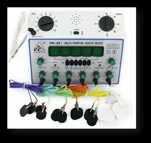 ELECTROESTIMULADOR KWD-808-I CON CAIMANES PARA