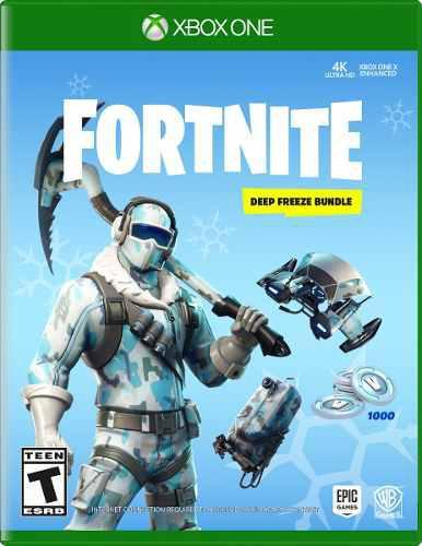 Fortnite Deep Freeze Bundle Para Xbox One Start Games Meses