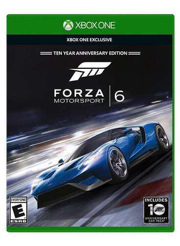 Forza 6 Xbox One, Nuevo, Sellado