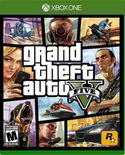 Grand Theft Auto V Para Xbox One. Nuevo Y Sellado.
