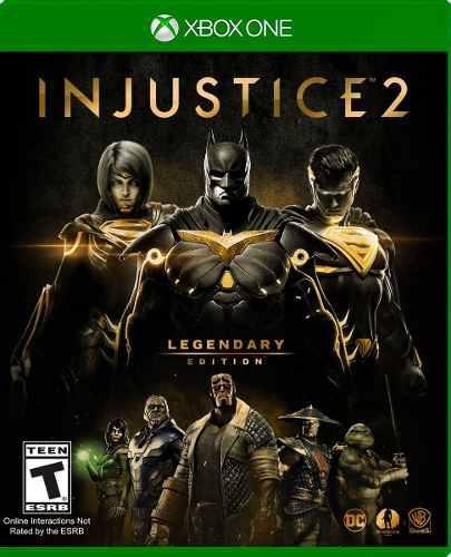 Injustice 2 Legendary Edition Xbox One Nuevo Sellado + Envio