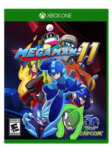 Mega Man 11 Xbox One Nuevo Sellado Envio Express