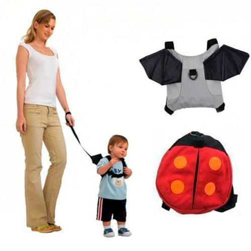 Mochila De Seguridad Para Niño Y Niña C/correa 2 Modelos