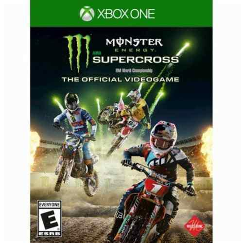 Monster Energy Supercross Xbox One Nuevo Y Sellado