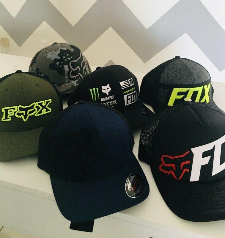 Paquete de 6 gorras Fox S/M