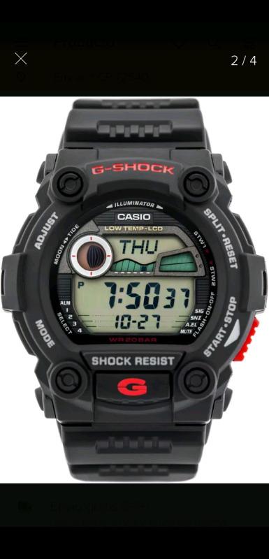 Reloj Casio G-SHOCK original y nuevo
