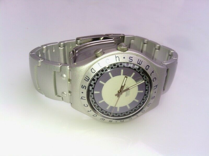 Reloj swatch irony aluminium manecillas