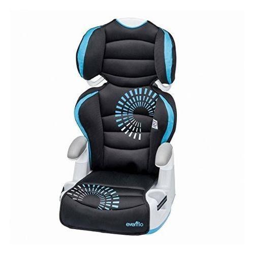 Silla Asiento Elevador Para Bebe Color Azul Auto Evenflo