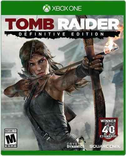 Tomb Raider Definitive Edition Xbox One Nuevo Sellado Juego