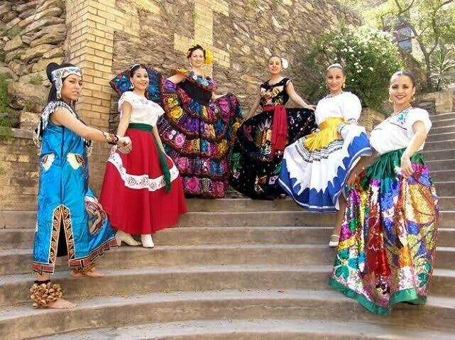 Muñecas Trajes Regionales Mexicanos Posot Class