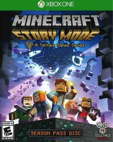 Xbox One Minecraft Story Mode Nuevo Sellado