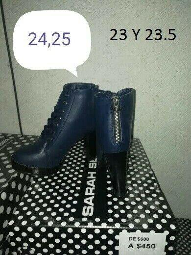 se vende bota y botín baratos