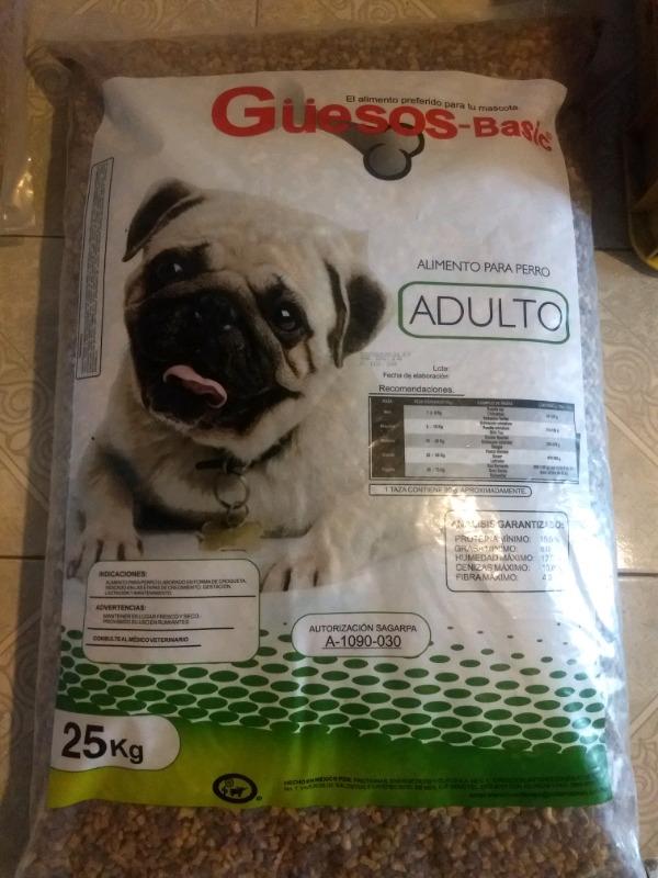 BULTO de alimento adulto cachorro 25 kg