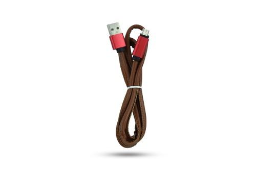 Cable Micro Usb Carga Datos Celular Piel 1m /e