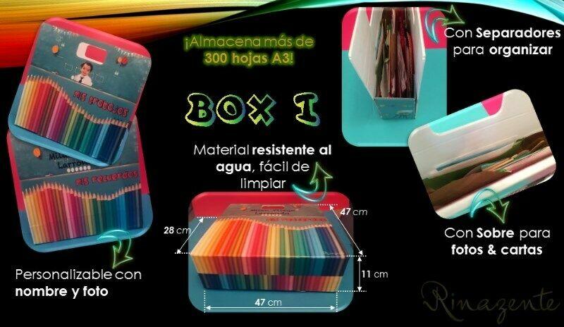 Caja Organizadora para Niños BOX-i