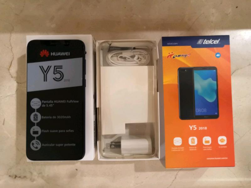 Celular Huawei Y5 nuevo en su caja con garantía de 12 meses