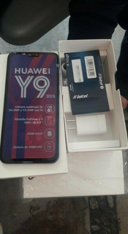 Huawei Y9 64GB  NUEVO EN CAJA NEG