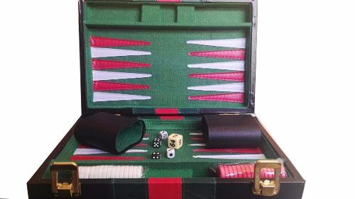 Maletin De Backgammon Foto Real, Envio Gratis