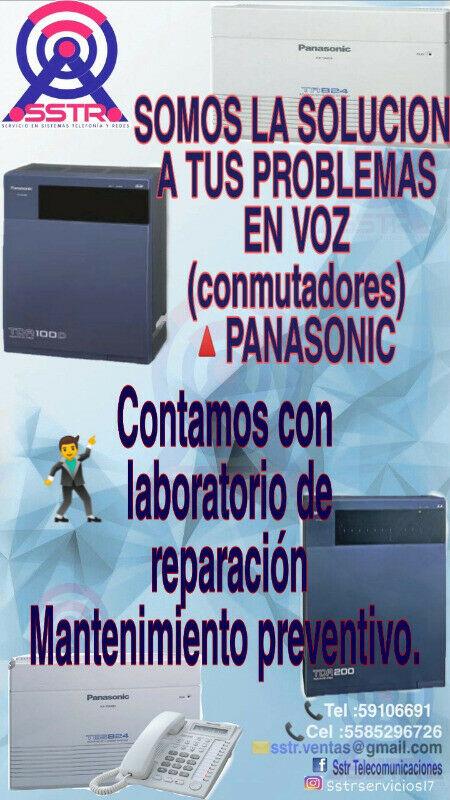 PROGRAMACION DE CONMUTADORES PANASONIC