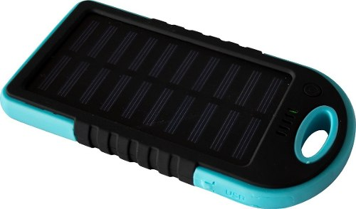 Power Bank Solar  Mah Azul