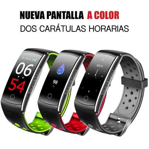 Reloj Smart Watch Pulsera Inteligente Sport Contraagua Color